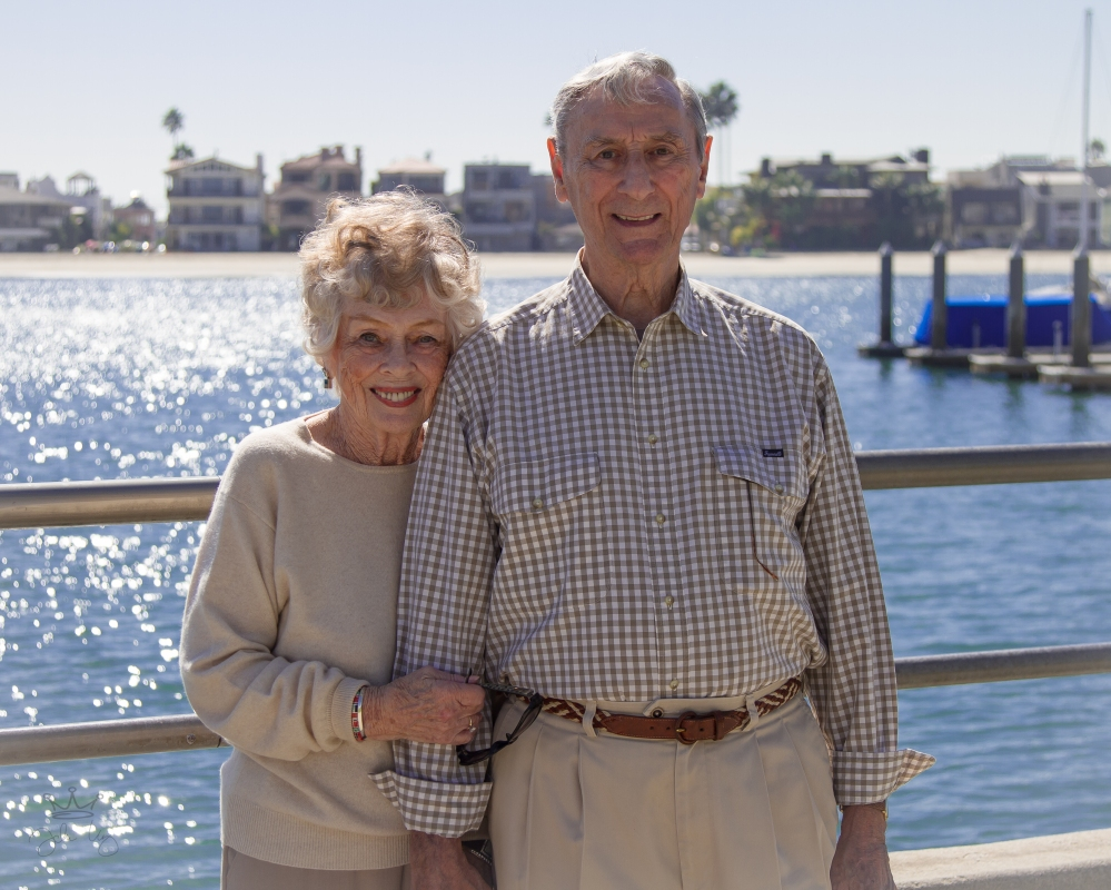 Parents and grandparents and more than 60 years of marriage.  A great afternoon in Long Beach with this amazing couple!