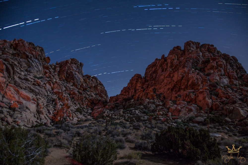 Joshua Tree 5 May 2014 Star Trail 1 First Look