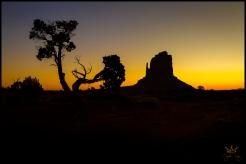 Monument Valley Sunrise Golden