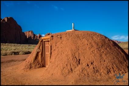 Traditional Navajo Hogan