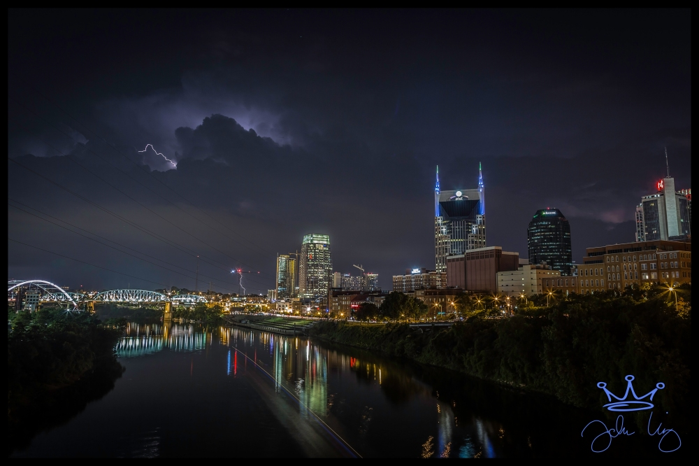 25 June 2016 Downtown Nashville Lightening
